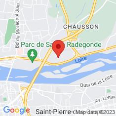 Carte / Plan Abbaye de Marmoutier (Tours)