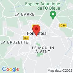 Carte / Plan Fondettes