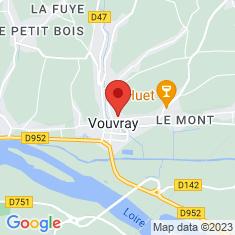 Carte / Plan Vouvray (Indre-et-Loire)