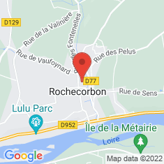 Carte / Plan Rochecorbon