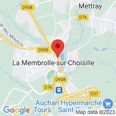 Carte / Plan La Membrolle-sur-Choisille