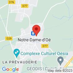 Carte / Plan Notre-Dame-d'Oé