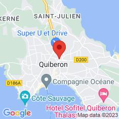 Carte / Plan Quiberon
