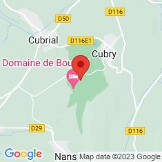 Carte / Plan Château de Bournel
