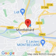 Carte / Plan Musée d'archéologie et d'histoire naturelle de Montbéliard