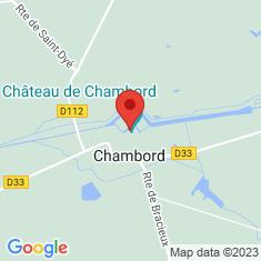 Carte / Plan Château de Chambord