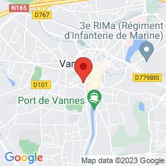 Carte / Plan Vannes