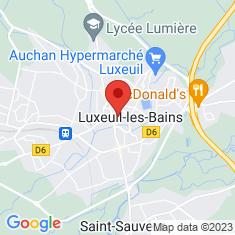 Carte / Plan Luxeuil-les-Bains