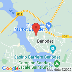 Carte / Plan Bénodet