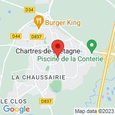 Carte / Plan Chartres-de-Bretagne