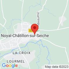 Carte / Plan Noyal-Châtillon-sur-Seiche