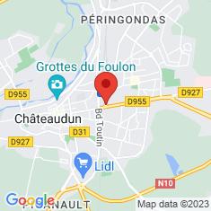 Carte / Plan Châteaudun