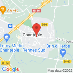 Carte / Plan Chantepie