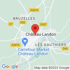 Carte / Plan Château-Landon