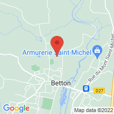 Carte / Plan Betton