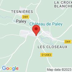 Carte / Plan Château de Paley
