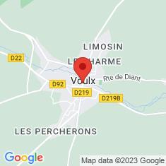 Carte / Plan Voulx