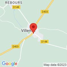 Carte / Plan Villemer (Seine-et-Marne)