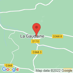 Carte / Plan La Gaudaine