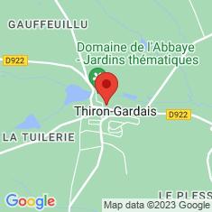 Carte / Plan Abbaye de la Sainte-Trinité de Tiron