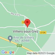 Carte / Plan Villiers-sous-Grez