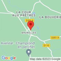 Carte / Plan Brunelles