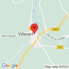 Carte / Plan Villecerf