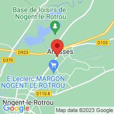 Carte / Plan Margon (Eure-et-Loir)