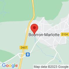 Carte / Plan Château de Bourron
