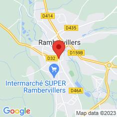 Carte / Plan Immeuble 64 rue Carnot (Rambervillers)