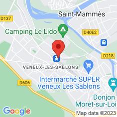 Carte / Plan Gare de Moret - Veneux-les-Sablons