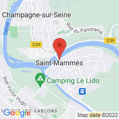 Carte / Plan Saint-Mammès