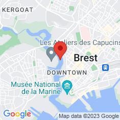 Carte / Plan Téléphérique de Brest