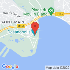 Carte / Plan Océanopolis