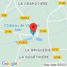 Carte / Plan Villebon (Eure-et-Loir)