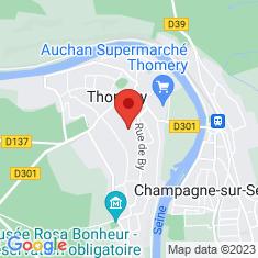 Carte / Plan Chemin des Longs Sillons
