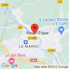 Carte / Plan Stade Paul-Gasser