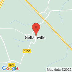 Carte / Plan Gellainville