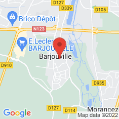Carte / Plan Barjouville