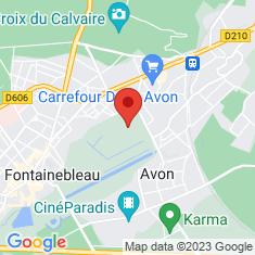 Carte / Plan Avon (Seine-et-Marne)