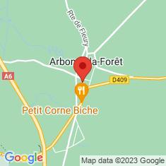 Carte / Plan Arbonne-la-Forêt