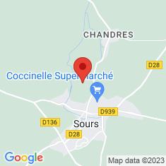 Carte / Plan Parc et Château de Sours
