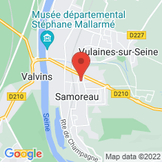 Carte / Plan Samoreau