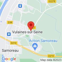 Carte / Plan Vulaines-sur-Seine