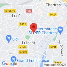 Carte / Plan Luisant