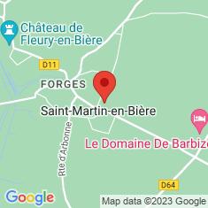 Carte / Plan Saint-Martin-en-Bière