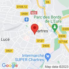 Carte / Plan Théâtre municipal de Chartres