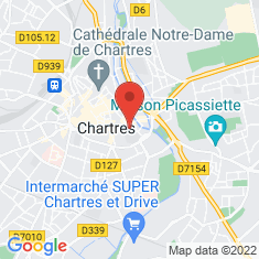 Carte / Plan Église Saint-Pierre de Chartres
