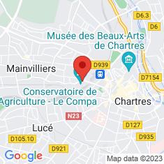 Carte / Plan Le Compa, conservatoire de l'Agriculture