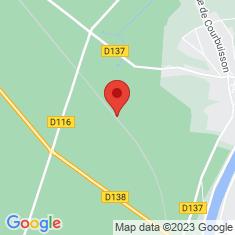 Carte / Plan Halte de Fontainebleau-Forêt